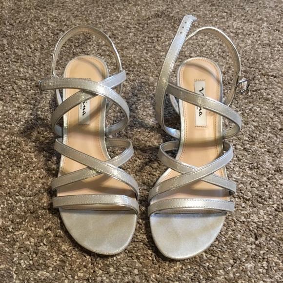 88d73544e Nina Shoes | Genaya Strappy Evening Sandal | Poshmark